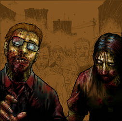 Walking Dead by titaniumgorilla
