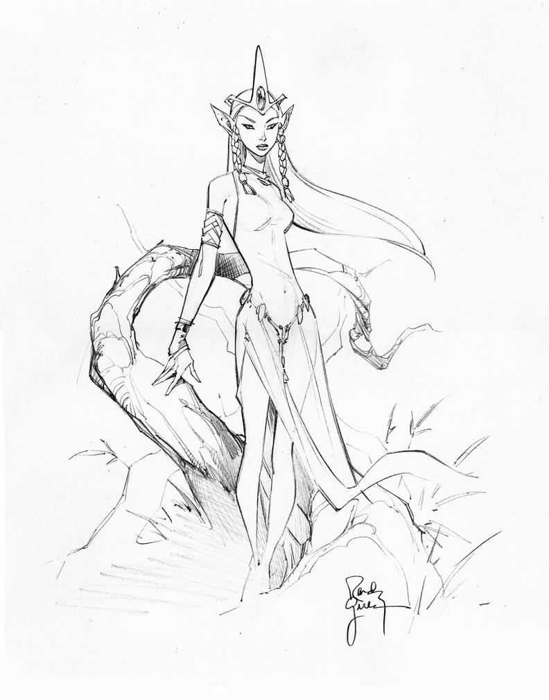 Elf Princess II by titaniumgorilla