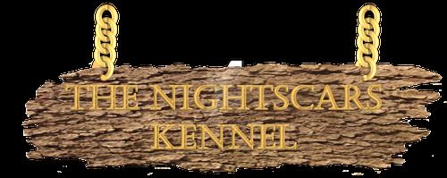 The Nightscars Kennel Logo by AixaRawr
