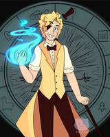 Human Bill Cipher by SpringsoulF