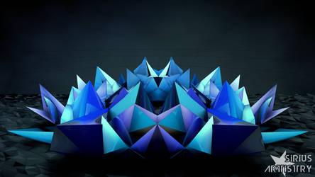 Geometry - Blue by Seri0us1y