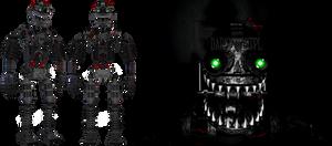 [FNaF 4] Nightmare Endoskeleton