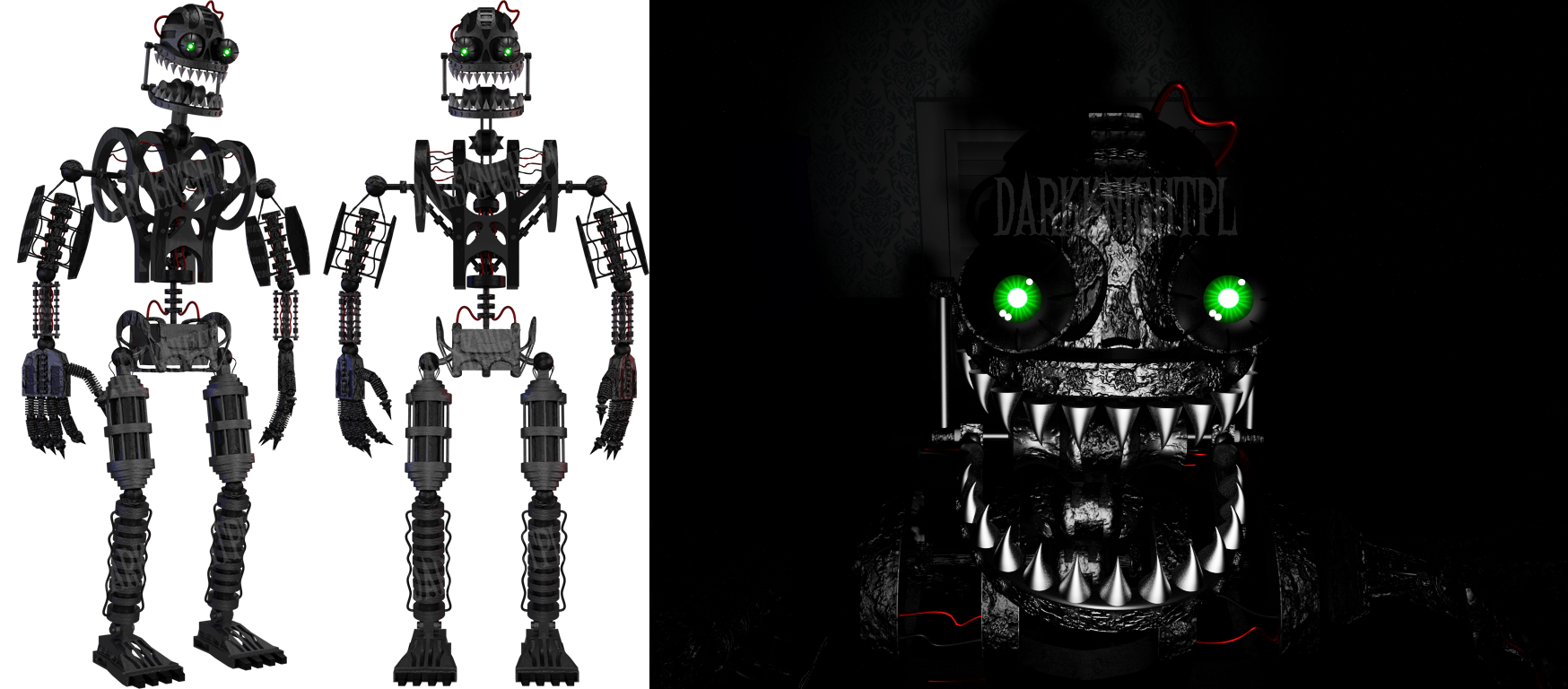 Five Nights At Freddys 2 Character Pictures