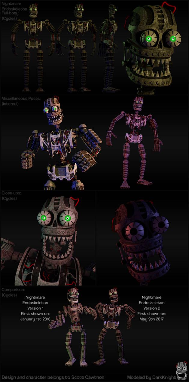 [FNaF] Nightmare Endoskeleton