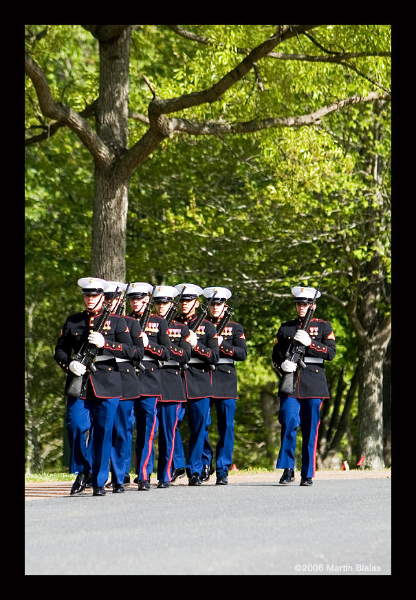 USMC Funeral by mrb24