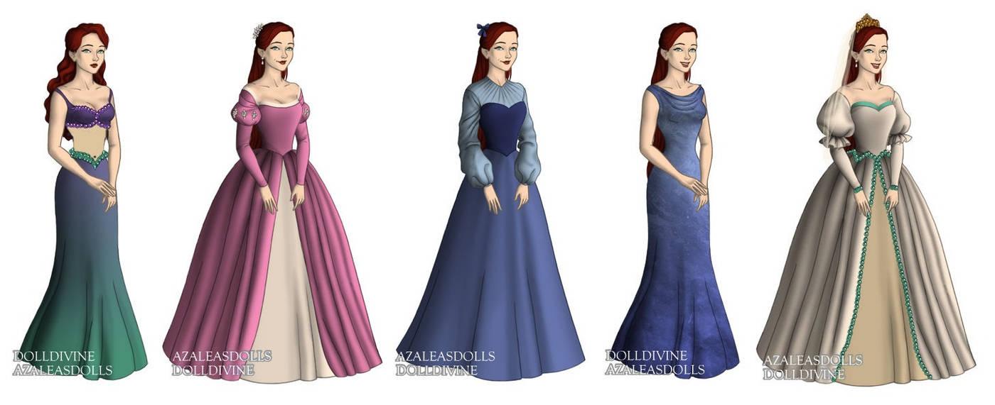 6fa0a03b4de78 Ariel (The Little Mermaid) outfits by sarasarit on DeviantArt