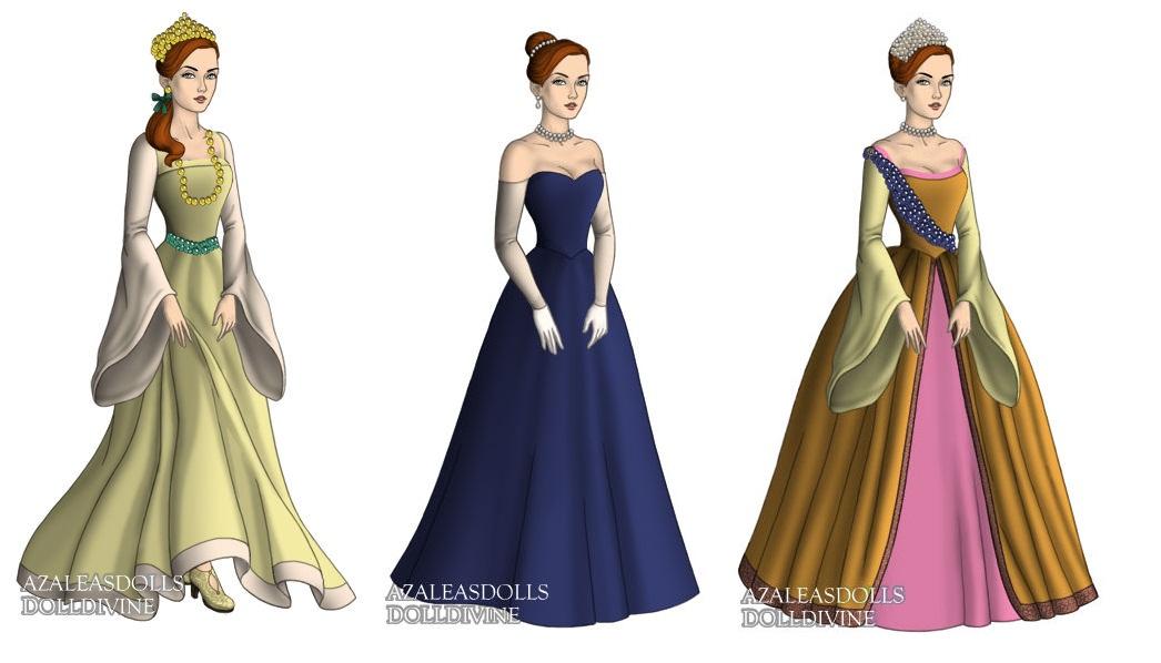 Anastasia (Anastasia) outfits by sarasarit