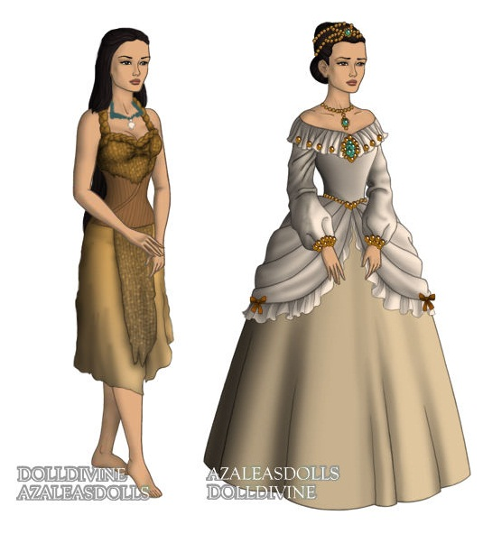 Pocahontas (Pocahontas) outfits by sarasarit