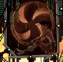 haunted panels by mikoneyoru