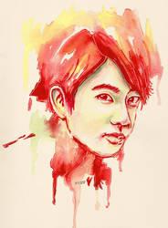 Jin of BTS by krissasaur