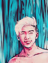 BTS - Rap Monster by krissasaur