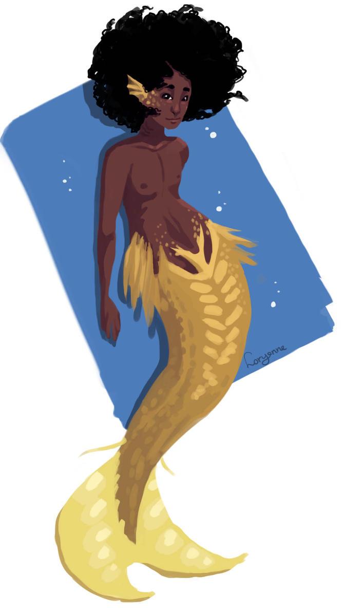 Mermaid2 by Levest