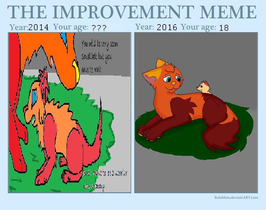 cringe at old art by pokemondragon111 on DeviantArt