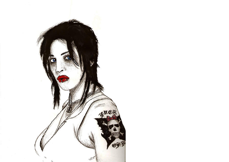 Brody Dalle Makeup Brody Dalle by jo Jo164