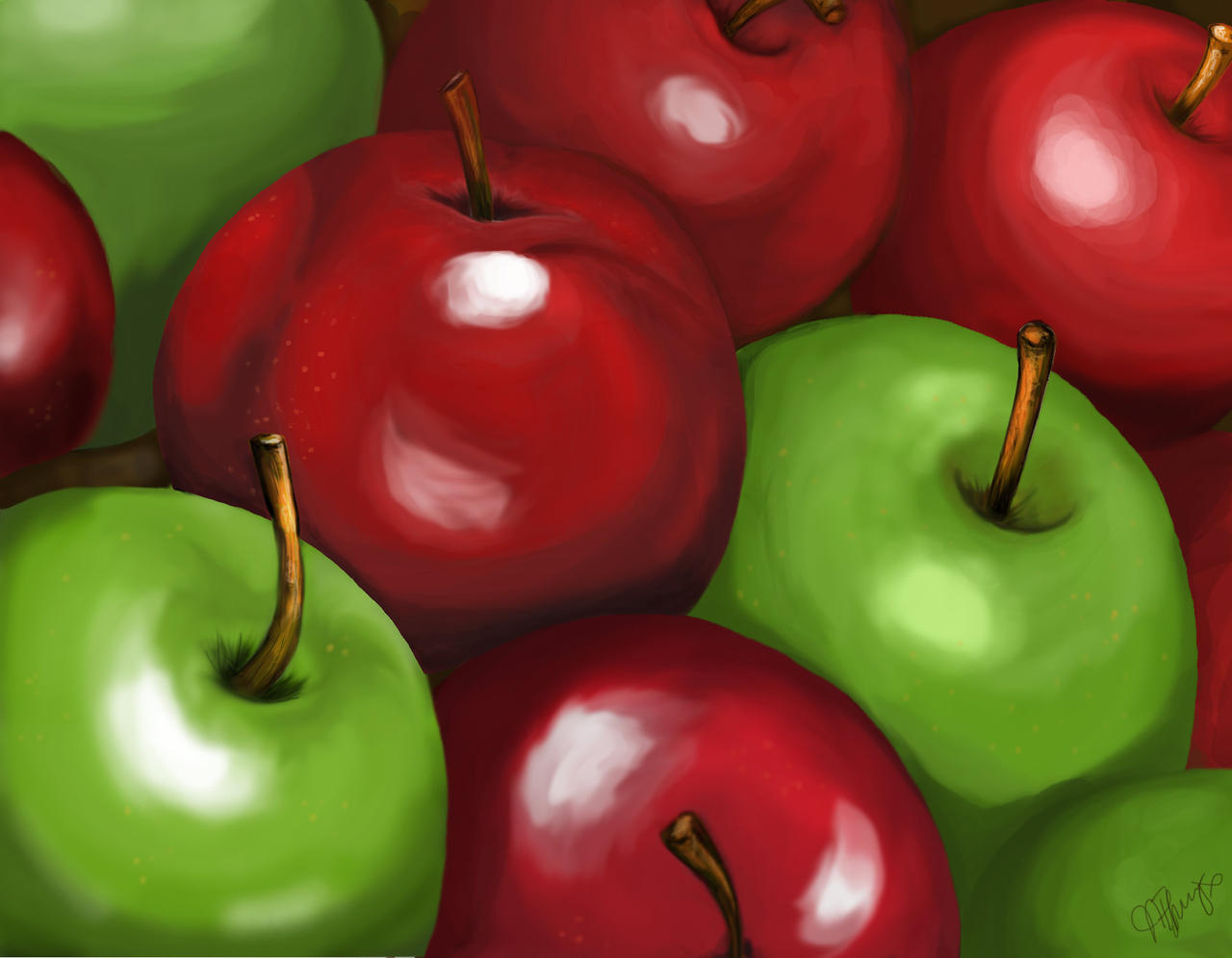 Clipart Red Apple