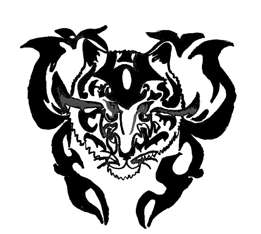 Tribal Tiger By Ruttan On Deviantart: Tribal Tiger By ALi-SpAZ On DeviantART