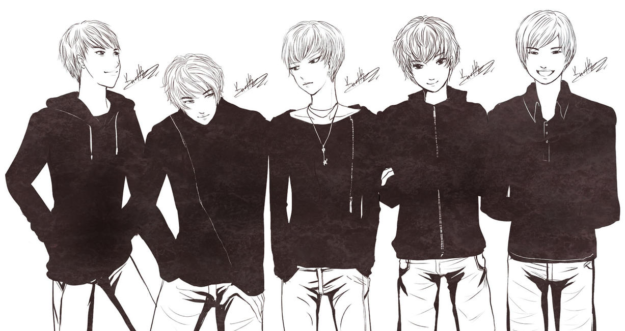 SHINee by KnotBerry