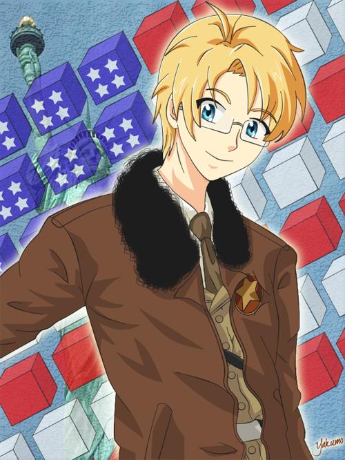 APH 1 - USA, Alfred by YakumoKaiba