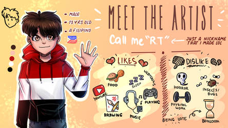 Meet The Artist w/ Speedpaint!