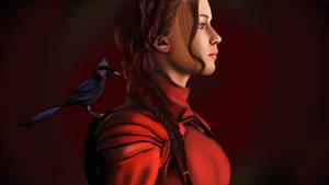 The Hunger Games Mockingjay-Katniss Everdeen