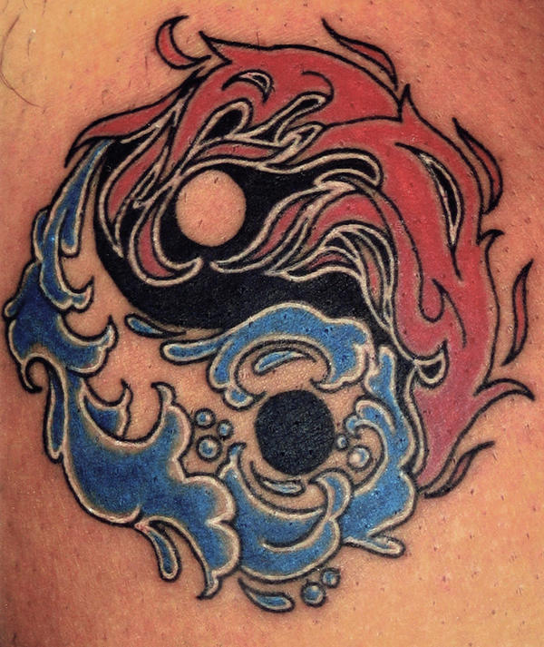 Yin yang tattoo by jeanette lawson on deviantart for Fire and ice tattoo shop