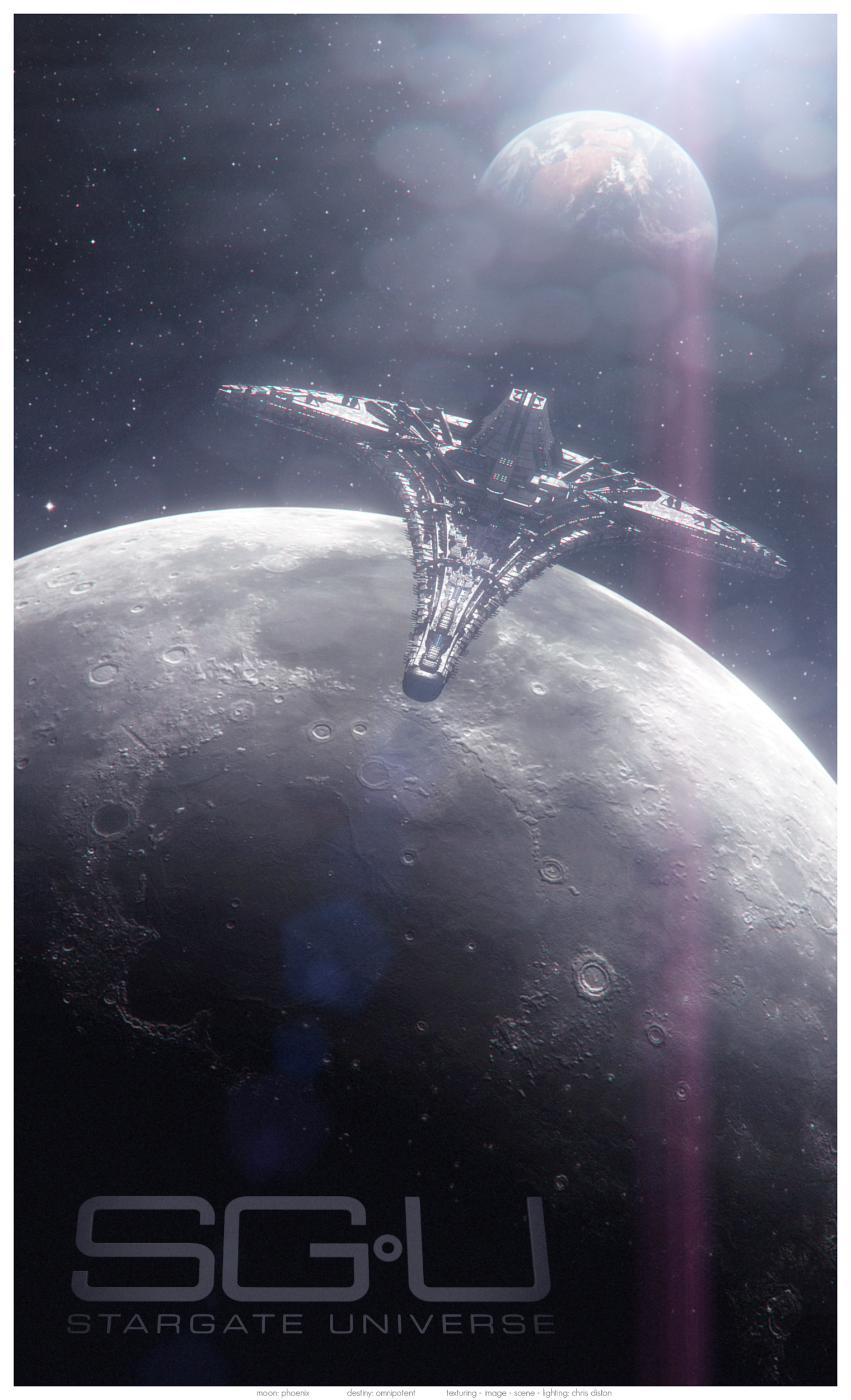 Inceptum II: SGU Poster by Diston