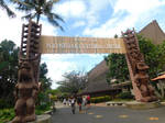 Welcome To The Polynesian Caltural Center  by kanjikamehameha