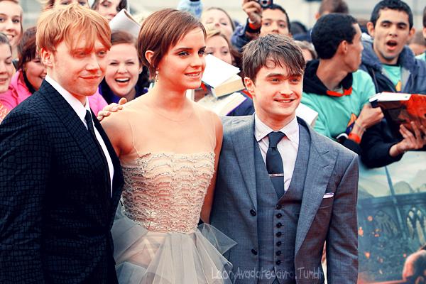 Rupert, Emma and Daniel by LoonyAvadaKedavra