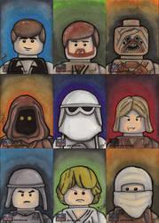 Star Wars Galaxy 7 - Part 12 by briandeguireart