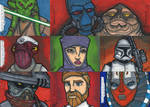Star Wars Galactic Files Sketchcards Part 2