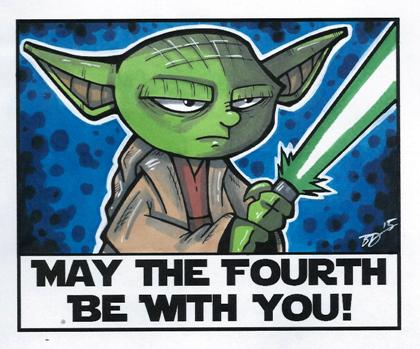 May the 4th be with you! by bdeguire