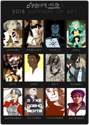2018 summary by ND-painter
