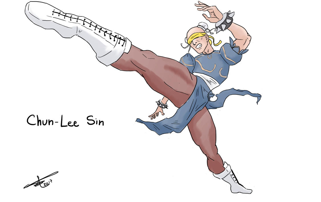 Chun-Lee Sin by luizfnmenezes