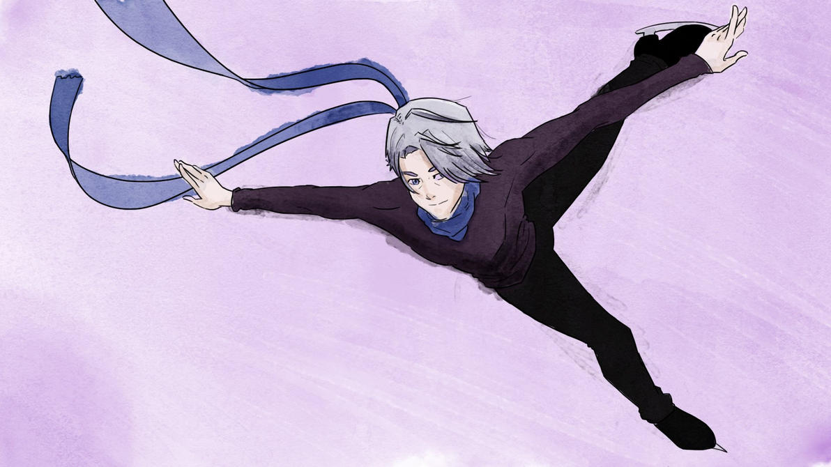 Victor (Yuri on Ice) by luizfnmenezes