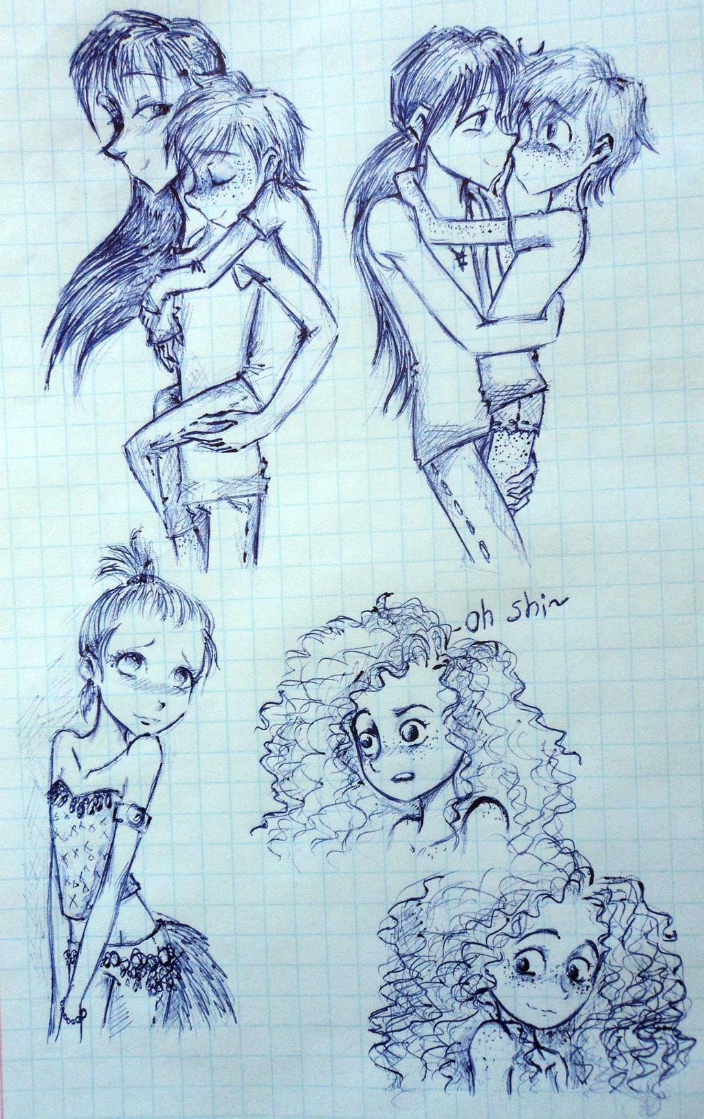 sketchdump *well,amazing name!* by UkeHicForEva