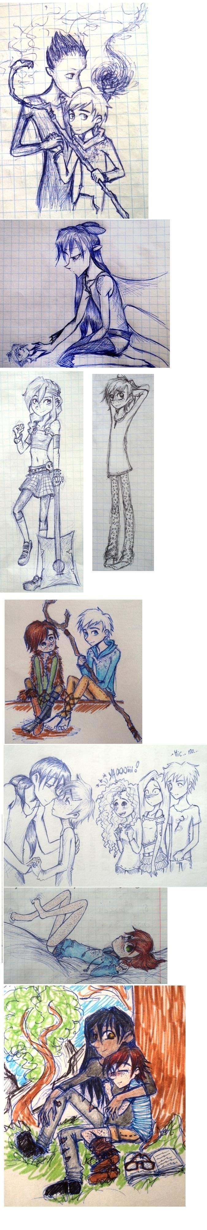 shitty sketchdump by UkeHicForEva