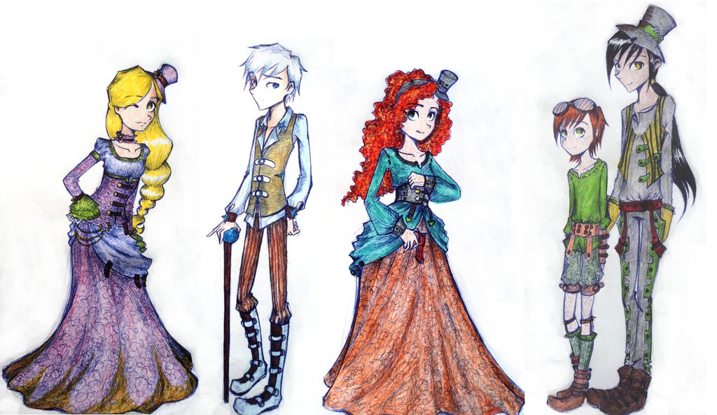 Big5 goes steampunk by UkeHicForEva