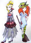 Halloween girls by UkeHicForEva