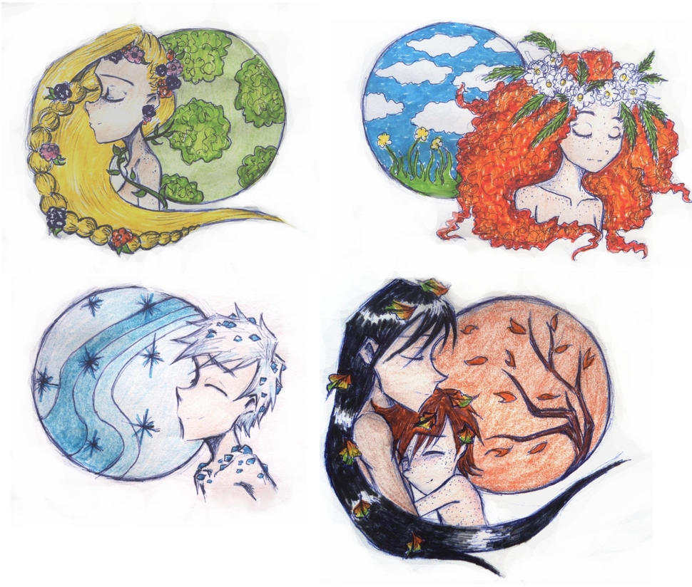 circle of seasons by UkeHicForEva