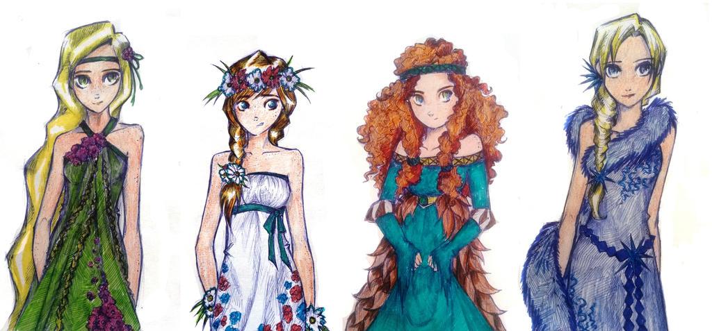 SeasonsGirls by UkeHicForEva