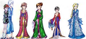kimono babes