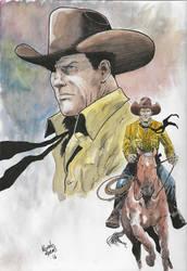 Tex Willer by RenatoMoraesEstudio