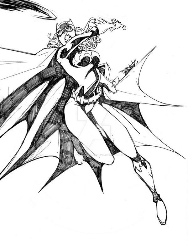 Batgirl by DrummerboyDomo