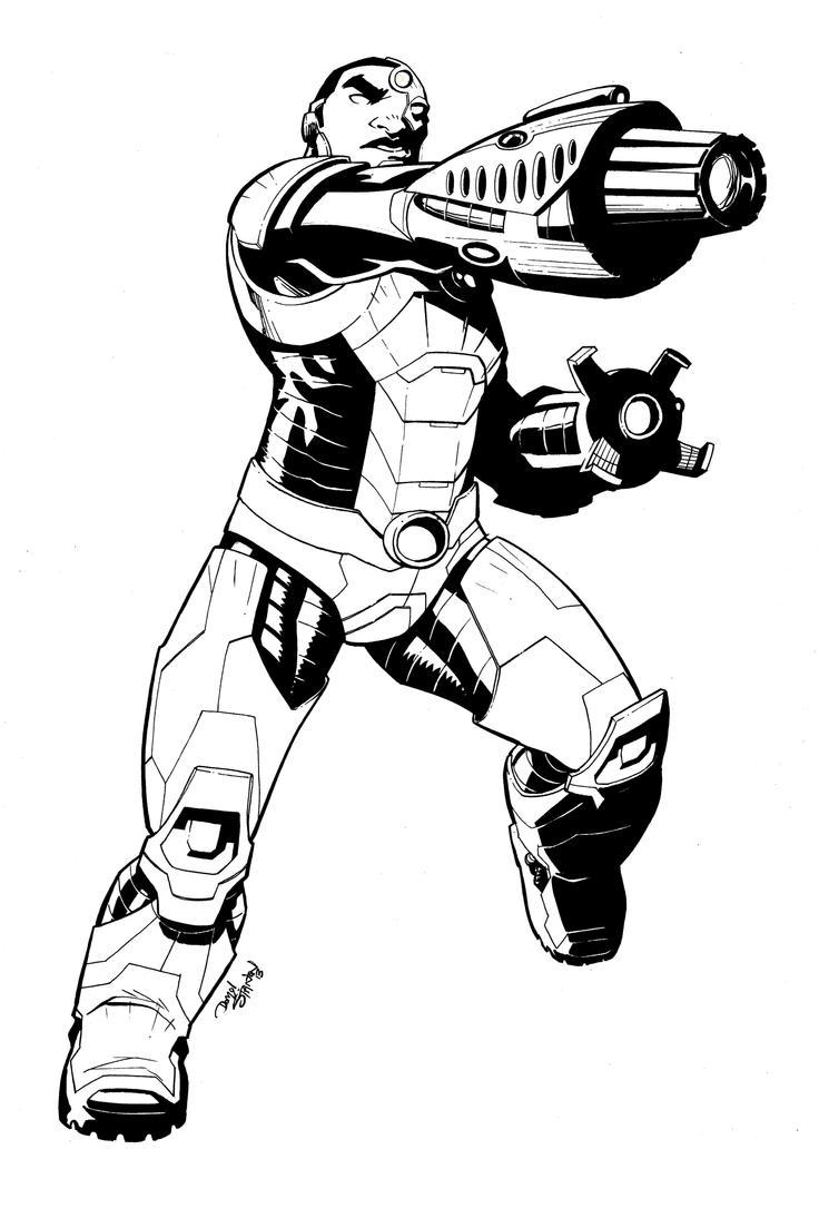 Cyborg by DrummerboyDomo