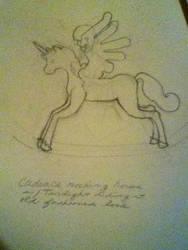 Cadence, a Rocking Horse Winner idea/sketch by jlgarlock