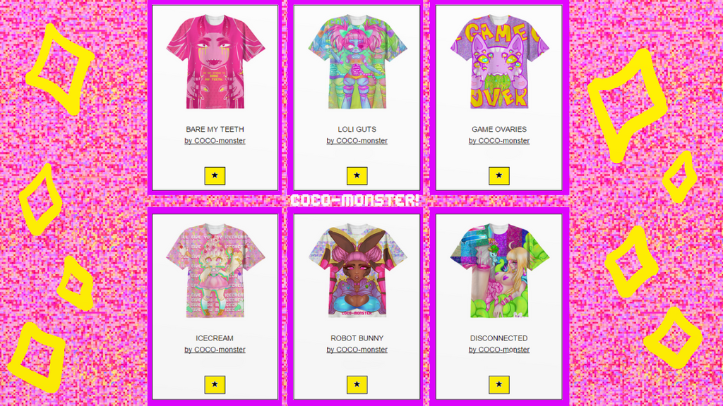 PAOM sHirTS by COCO-monster