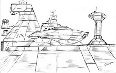 Planetery Dock by gustorak