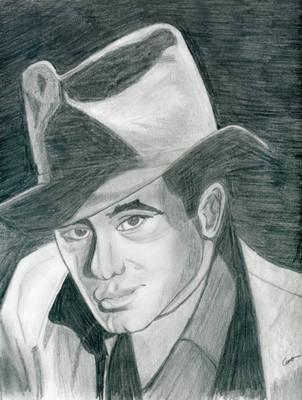 Humphrey Bogart by gustorak