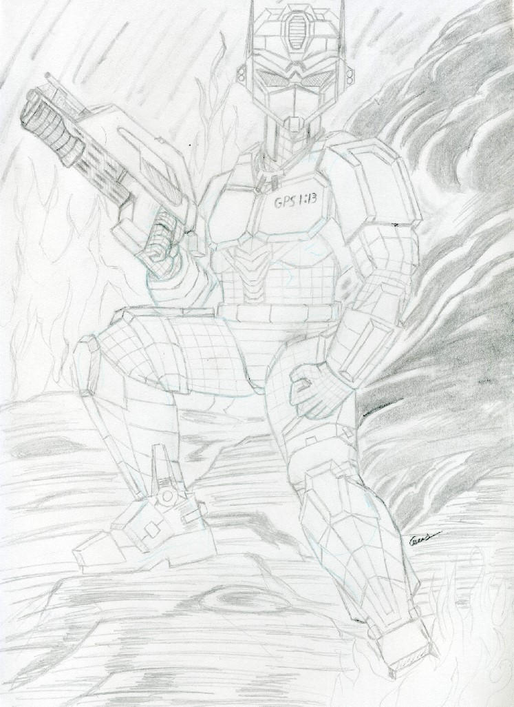Lost Cousin full size sketch