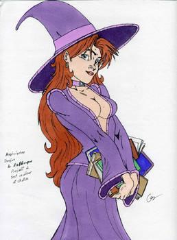 Une magicienne au cheveux de feu WIP
